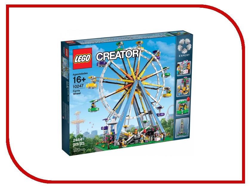 конструктор lego creator реактивный самолет 31042 Конструктор Lego Creator Колесо обозрение 10247