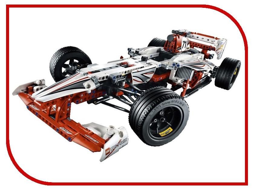 Конструктор Lego Technic Чемпион Гран-При 42000 конструктор lego technic дорожная техника 42060