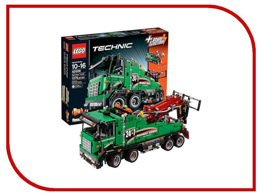 Конструктор Lego Technic Машина Техобслуживания 42008 конструктор lego 41308 кондитерская стефани