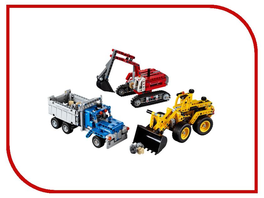 Конструктор Lego Technic Строительная команда 42023 конструктор lego technic дорожная техника 42060
