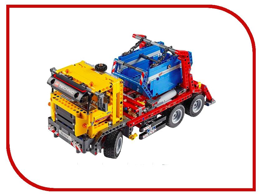 Конструктор Lego Technic Контейнеровоз 42024 конструктор lego technic дорожная техника 42060