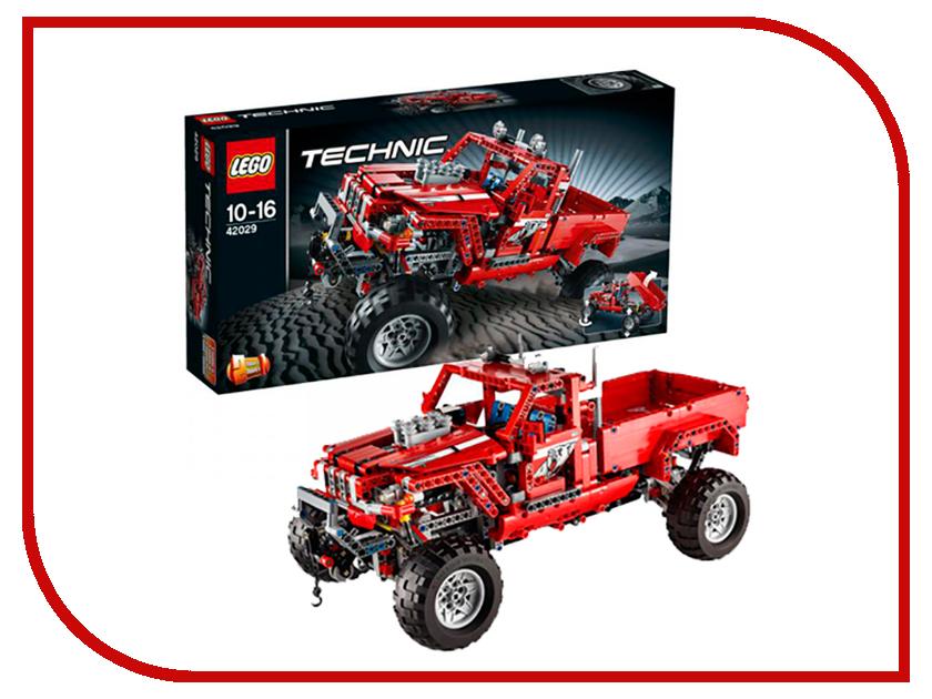 Конструктор Lego Technic Тюнингованный пикап 42029 конструктор lego 41308 кондитерская стефани