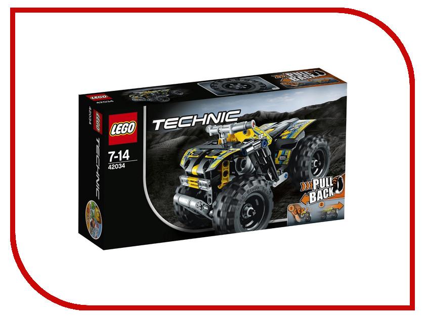 Конструктор Lego Technic Квадроцикл 42034 конструктор lego technic combine harvester 8274
