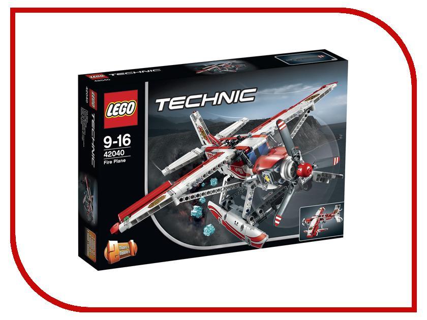 Конструктор Lego Technic Пожарный самолет 42040 lego technic 42040 пожарный самолет