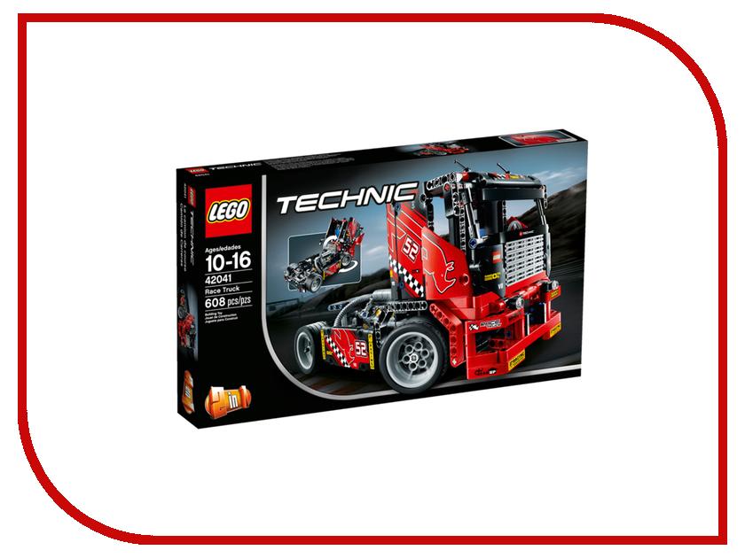 Конструктор Lego Technic Гоночный грузовик 42041 lego technic конструктор гоночный автомобиль для побега
