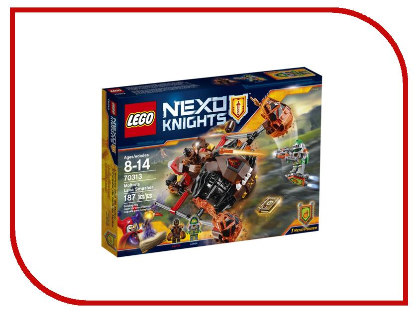 Конструктор Lego Nexo Knights Лавинный разрушитель Молтора 70313 конструктор lego 41308 кондитерская стефани