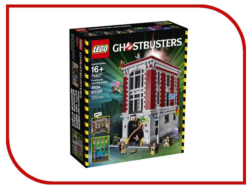 Конструктор Lego Ghostbusters Firehouse Headquarters 75827 конструктор lego 41308 кондитерская стефани