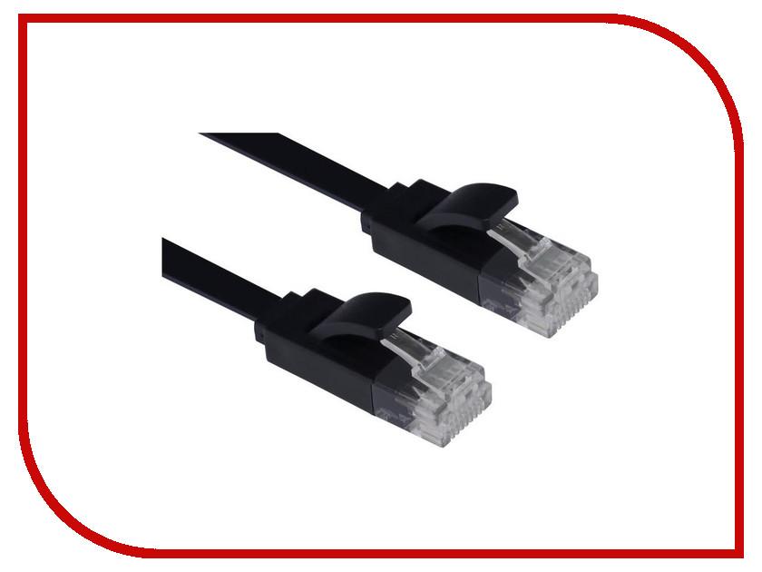 Сетевой кабель Greenconnect Premium UTP 30AWG cat.6 RJ45 T568B 1m Black GCR-LNC616-1.0m аксессуар greenconnect utp 23awg cat 6 rj45 t568b 1m black gcr lnc606 1 0m