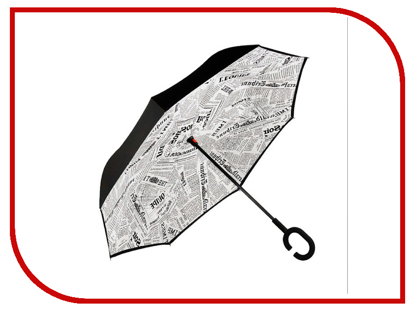 Зонт Зонт Наоборот White Newspaper зонт other 11