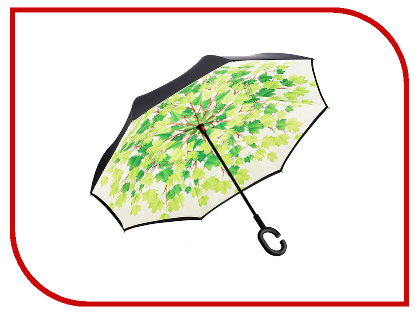 Зонт Зонт Наоборот Green Leaves