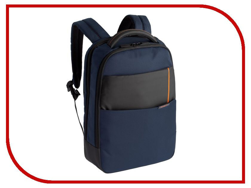 игра на выживание Рюкзак Samsonite 14.1 Qibyte Laptop Backpack Blue-Black 16N-01004