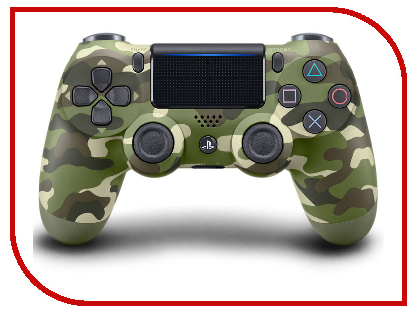 Геймпад Sony DualShock 4 V2 Camouflage CUH-ZCT2E barrow g1 4 brass manual exhaust valve air evacuation valve for computer water cooling system tpq v2