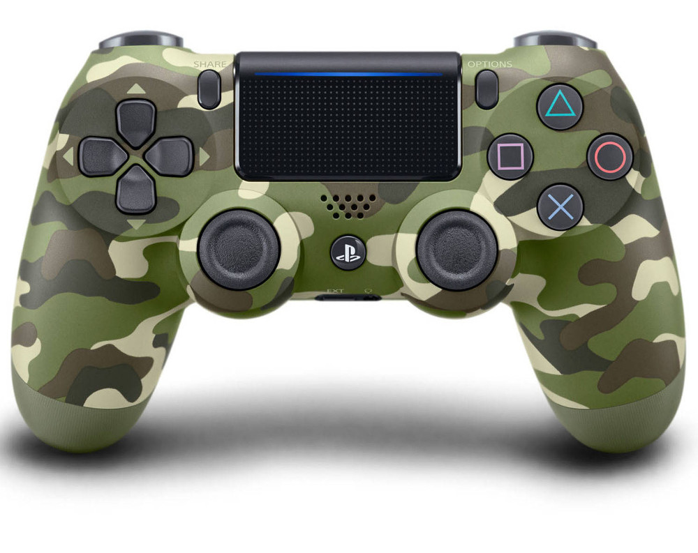 Геймпад Sony DualShock 4 V2 Camouflage CUH-ZCT2E геймпад nintendo switch pro controller