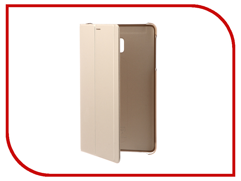 Аксессуар Чехол Samsung Galaxy Tab A 8.0 SM-T380 / SM-T385 BookCover SAM-EF-BT385PFEGRU Gold case cowhide sleeve for samsung galaxy tab a 8 0 t380 t385 sm t380 sm t385 8 tablet protective cover genuine leather pouch