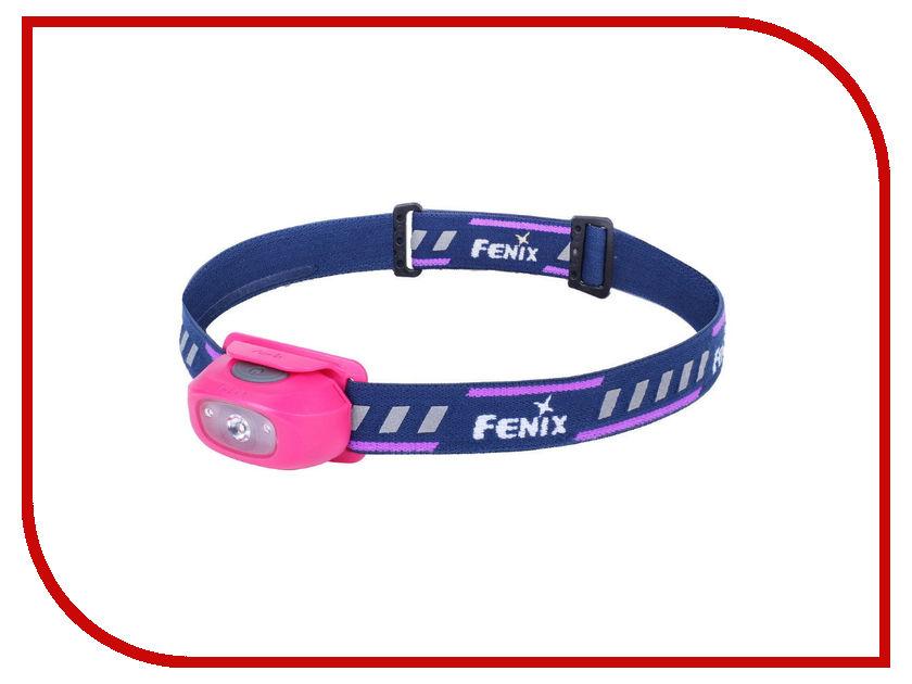 Фонарь Fenix HL16 Pink фонарь fenix ld02
