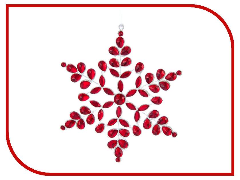 Украшение Kurt S. Adler Снежинка Аленький цветочек D3103 аленький цветочек