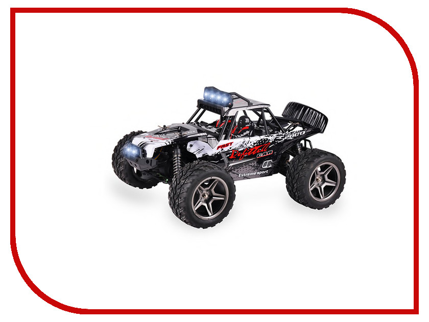 Игрушка WLToys A12409 Black-Gray 12409 игрушка ecx ruckus gray blue ecx00013t1