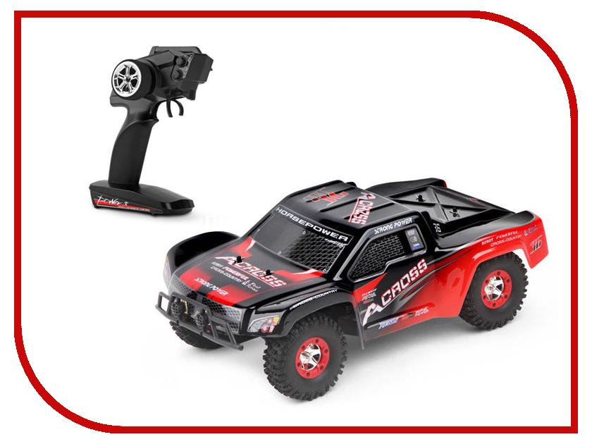 Фото Игрушка WLToys Truck Black-Red 12423 игрушка wltoys red 2015 1a
