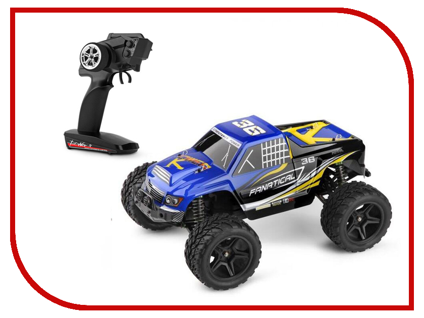 Игрушка WLToys Truggy Blue A323 радиоуправляемая игрушка wltoys double sides 2308 blue green