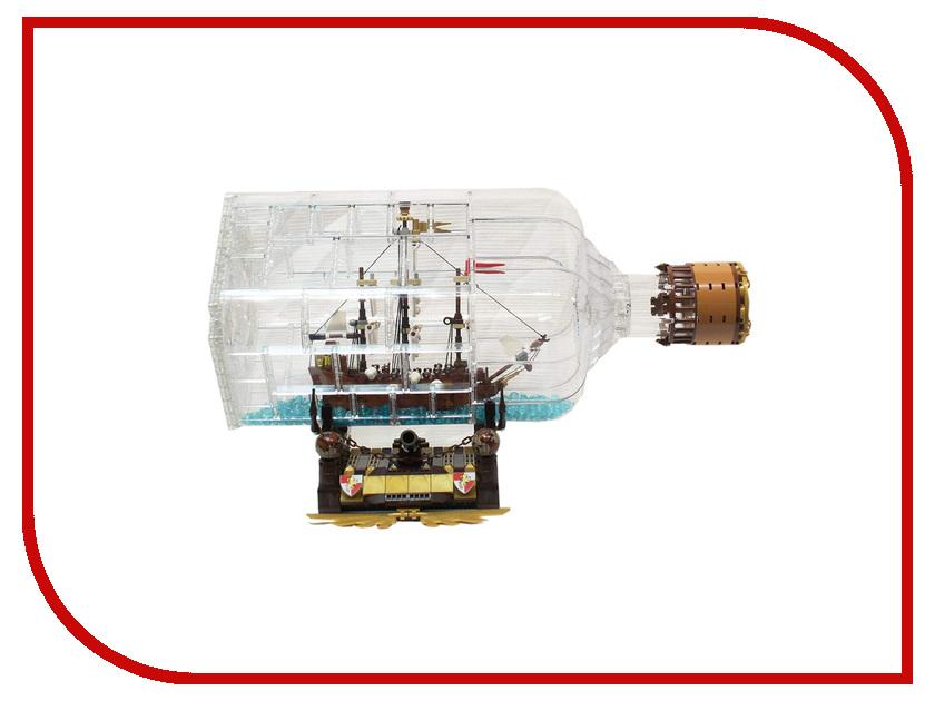 Конструктор Lepin MOC Корабль в бутылке 775 дет. 16045 конструктор lepin star plan блокадный корабль повстанцев тантив 4 1748 дет 05046