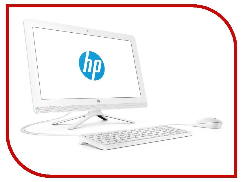 Моноблок HP AIO 22-b015ur White Y0X77EA (Intel Celeron J3060 1.6 GHz/4096Mb/1000Gb/DVD-RW/Intel HD Graphics/Wi-Fi/Bluetooth/Cam/21.5/1920x1080/Windows 10 64-bit)