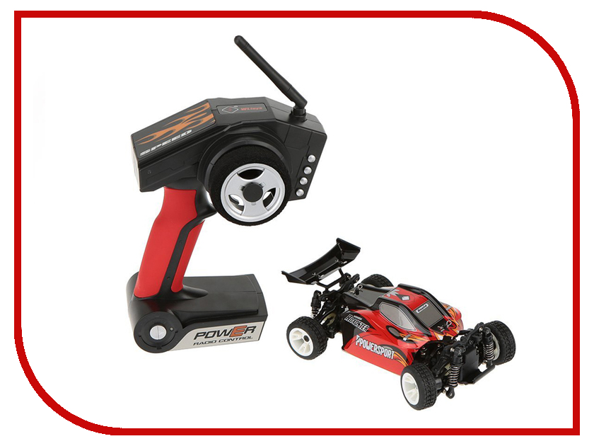 Игрушка WLToys Off-Road Red A202 wltoys a202 1 24 electric 4wd off road buggy