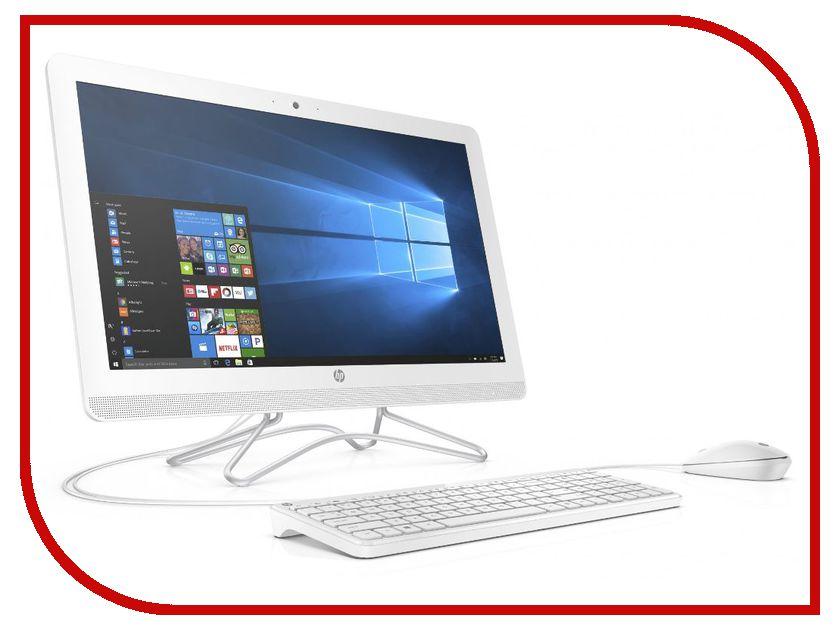 Моноблок HP AIO 24-e053ur White 2BW46EA (Intel Core i5-7200U 2.5 GHz/4096Mb/1000Gb/DVD-RW/nVidia GeForce 920MX 2048Mb/Wi-Fi/Bluetooth/Cam/23.8/1920x1080/Windows 10 64-bit)