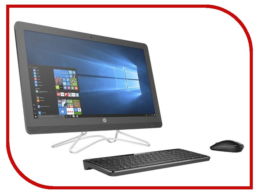 Моноблок HP AIO 24-e054ur Gray 2BW47EA (Intel Core i5-7200U 2.5 GHz/8192Mb/1000Gb/DVD-RW/Intel HD Graphics/Wi-Fi/Bluetooth/Cam/23.8/1920x1080/Windows 10 64-bit) ноутбук hp 15 bs624ur 2yl14ea intel core i3 6006u 2 0 ghz 8192mb 1000gb dvd rw intel hd graphics wi fi cam 15 6 1920x1080 dos