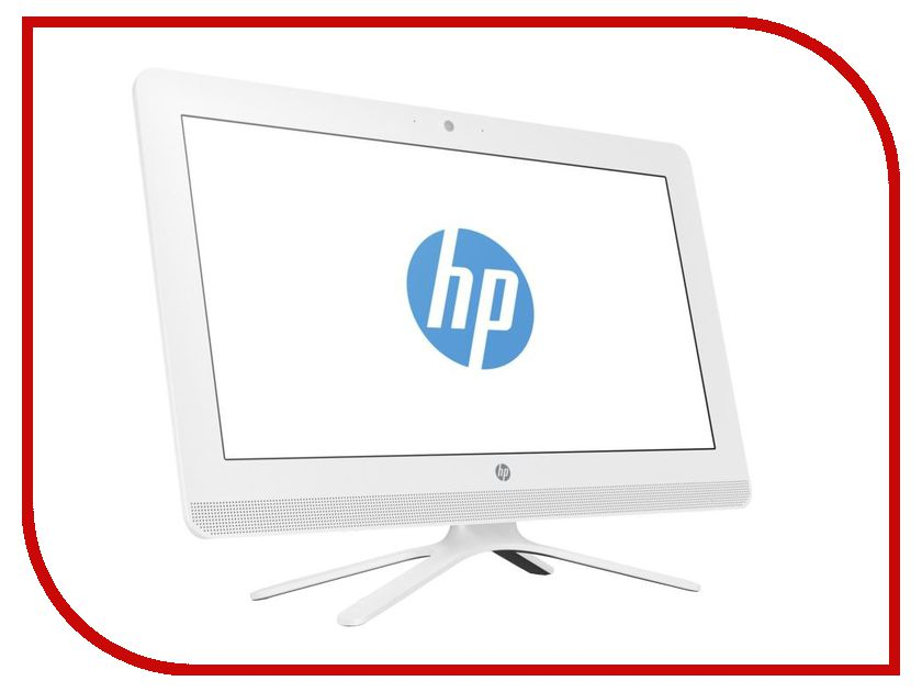 Моноблок HP AIO 20-c005ur White 1EF32EA (Intel Core i3-6100U 2.3 GHz/4096Mb/1000Gb/DVD-RW/Intel HD Graphics/Wi-Fi/Bluetooth/Cam/19.5/1600x900/Windows 10 64-bit) hewlett packard hp лазерный мфу печать копирование сканирование