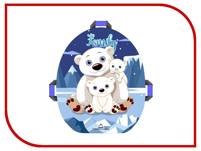 Ледянка Престиж Snowkid 50см Family Медведи