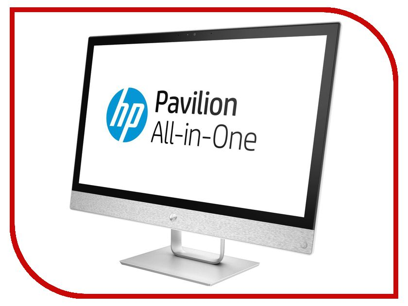 Моноблок HP Pavilion AIO 24-r028ur White 2MJ53EA (Intel Pentium G4560T 2.9 GHz/4096Mb/1000Gb/DVD-RW/Intel HD Graphics/Wi-Fi/Bluetooth/Cam/23.8/1920x1080/Windows 10 64-bit) hewlett packard hp лазерный мфу печать копирование сканирование
