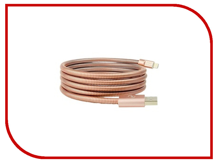 Аксессуар FuseChicken USB - Lightning Titan 1.5m Rose Gold IDSR15 аксессуар pineng pn 305 usb lightning gold