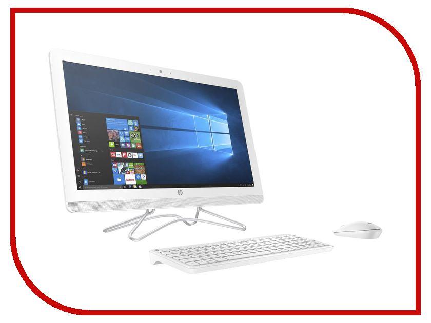 Моноблок HP AIO 24-e084ur White 2BW58EA (AMD A9-9400 2.4 GHz/8192Mb/2000Gb/DVD-RW/AMD Radeon R5/Wi-Fi/Bluetooth/Cam/23.8/1920x1080/Windows 10 64-bit)