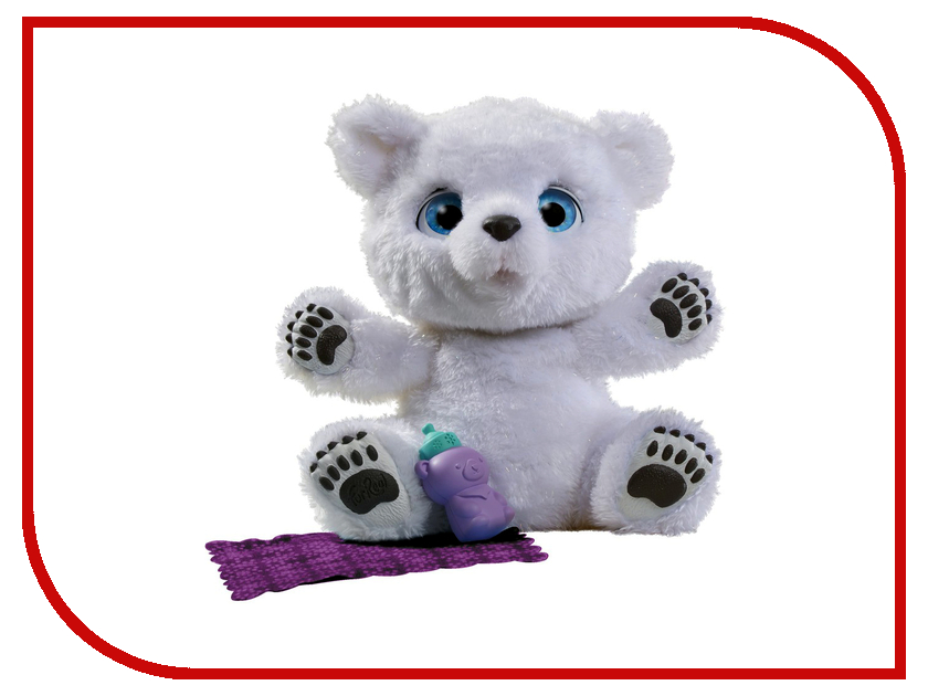 Игрушка Hasbro Furreal Friends Полярный медвежонок B9073 игрушка hasbro furreal friends полярный медвежонок b9073