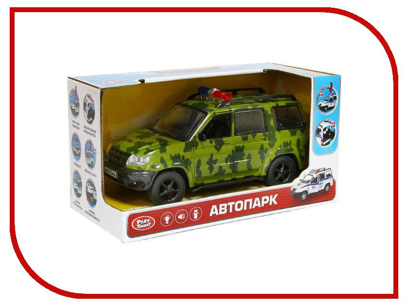 Машина Play Smart Джип X600-H11002 play smart металлич инерц машина джип автопарк play smart м1 50 box 12x5 7x6 8 см арт 6403a а74787