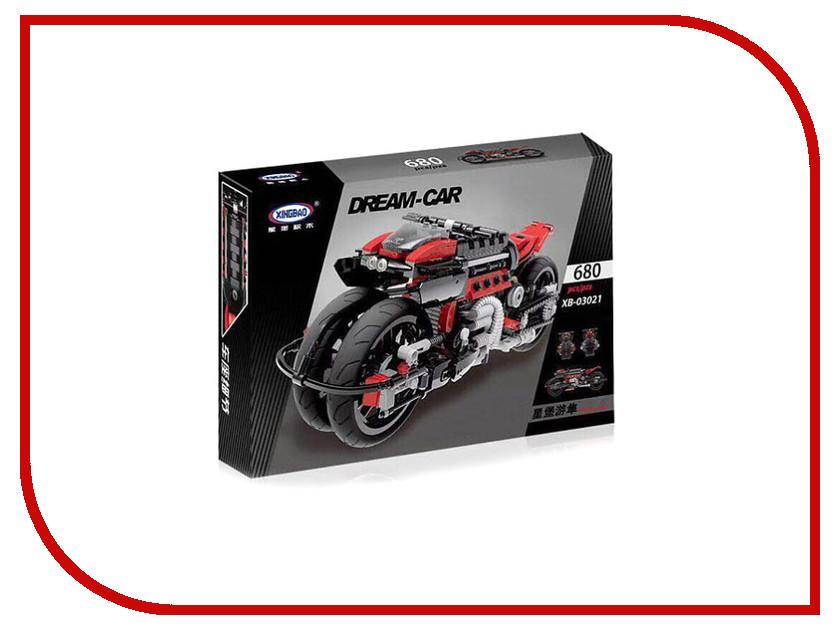 все цены на Конструктор XINGBAO MOC Футуристичный мотоцикл XB-03021