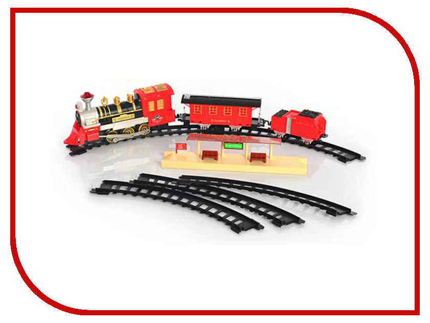 Железная дорога Play Smart 268cm A144-H06174 play smart металлич инерц машина автопарк play smart м1 50 box 12x5 7x6 8 см арт 6402b а74784
