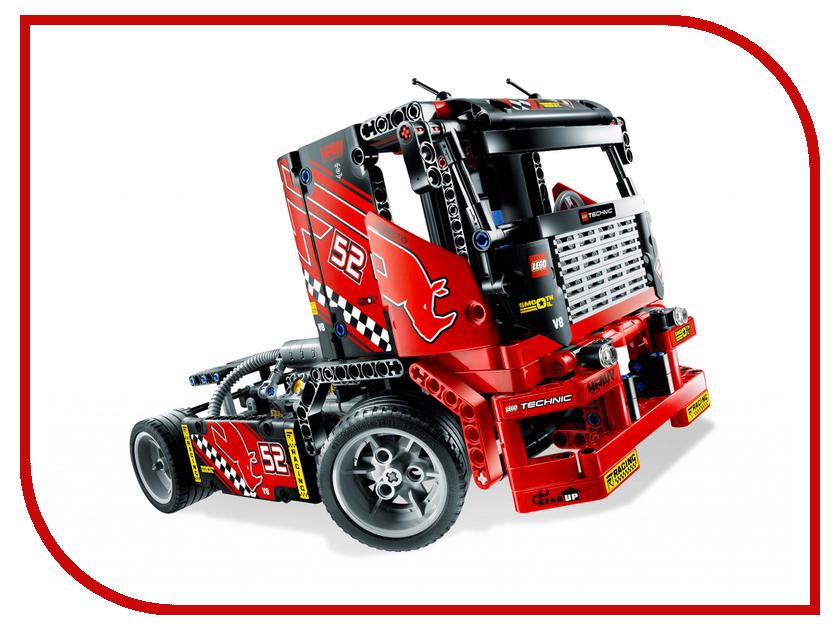 Конструктор Lego Race Truck 8041 беговел ecobalance race yellow