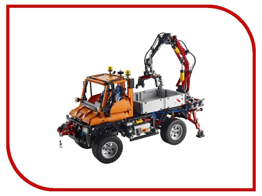 Конструктор Lego Technic Unimog U400 8110 8293 конструктор lego technic мотор power functions 10 элементов 8293