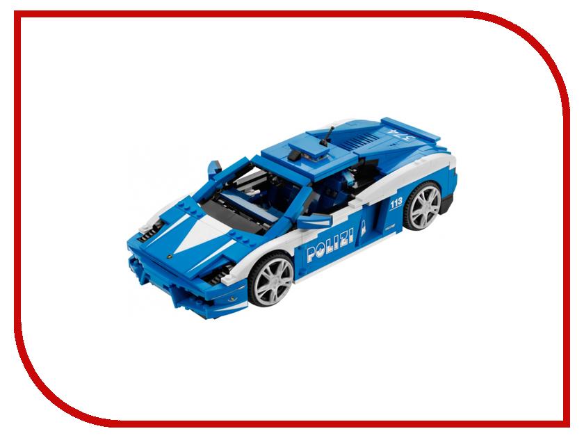 Конструктор Lego Racers Gallardo LP 560-4 Polizia 8214 машина sdl racers dirt crusher 2012a 2