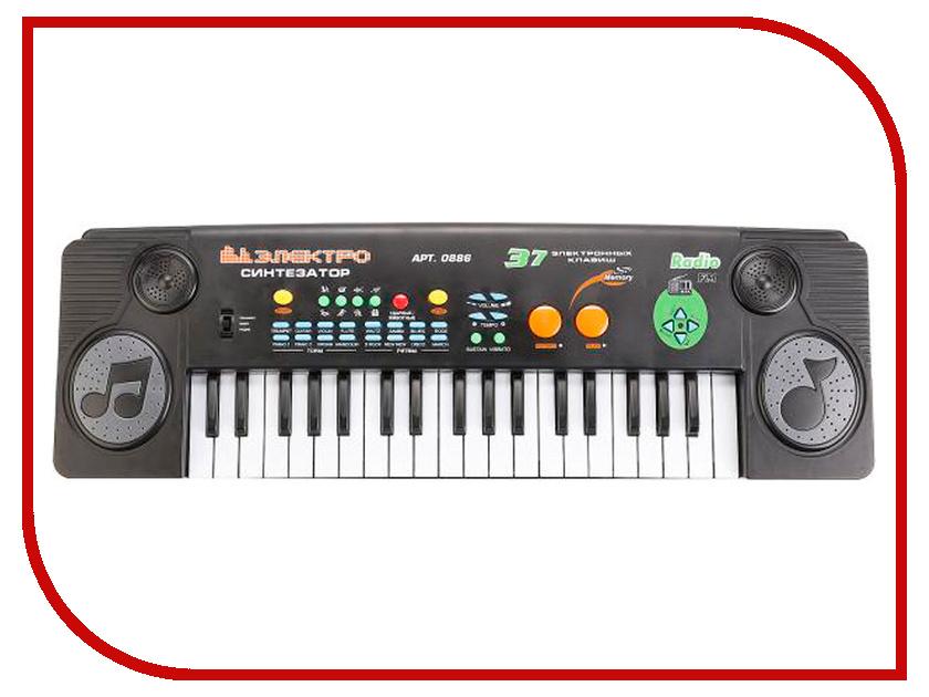 Детский музыкальный инструмент Play Smart Синтезатор S475-H29191 автомат play smart снайпер р41399