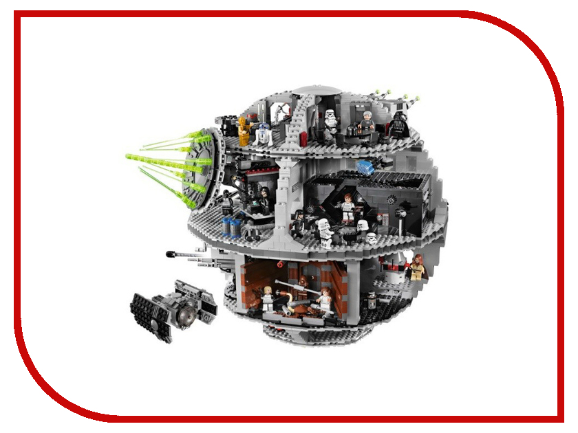 Конструктор Lego Star Wars 10188 star 3804pcs lepin 05035 wars death bricks star model educational toys for children gift building blocks bricks legoinglys 10188
