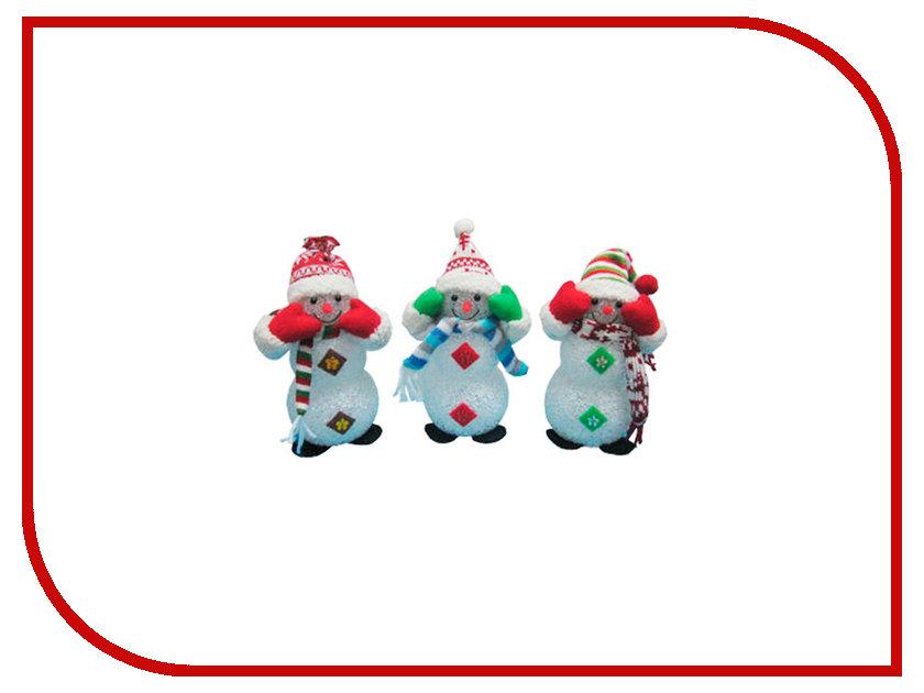 Новогодний сувенир Irit Снеговик ING-101