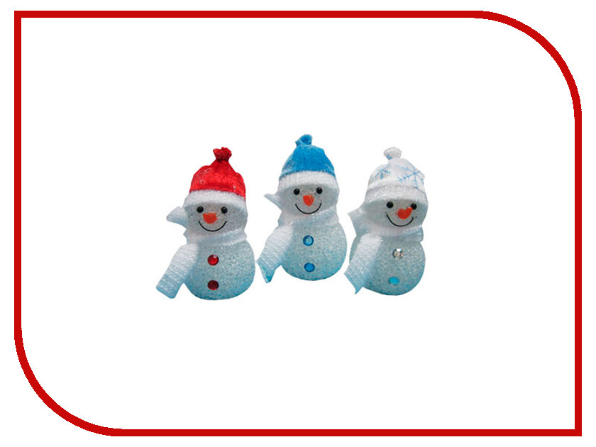 Новогодний сувенир Irit Снеговик ING-100