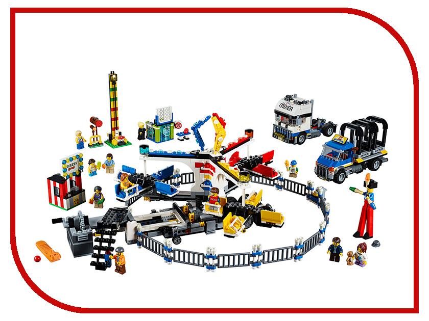 Конструктор Lego Fairground Mixer 10244 creator голубой экспресс
