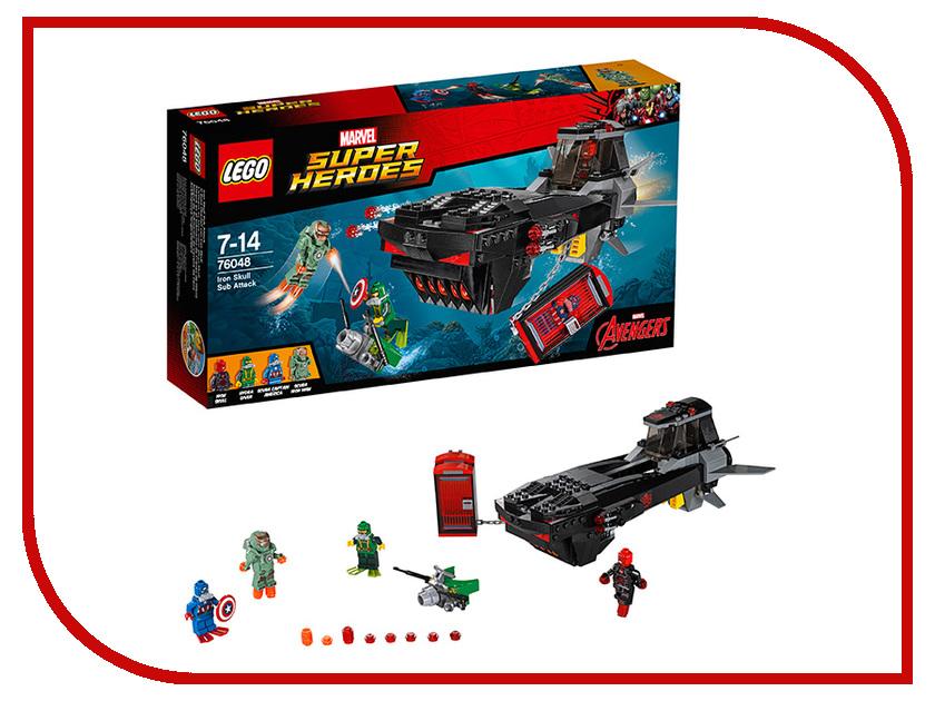 Конструктор Lego Marvel Super Heroes Подводная атака Железного черепа 76048