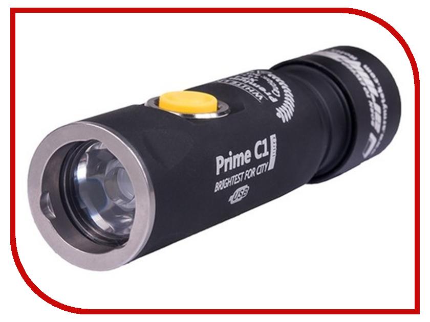 Фонарь ArmyTek Prime C1 Pro Magnet USB + 18350 XP-L Теплый
