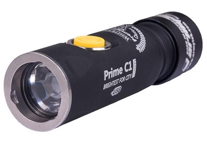 цена на Фонарь ArmyTek Prime C1 Pro Magnet USB + 18350 XP-L Теплый
