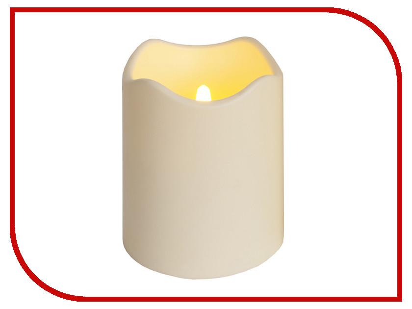 Светодиодная свеча Star Trading LED Candle Plastic White 068-23