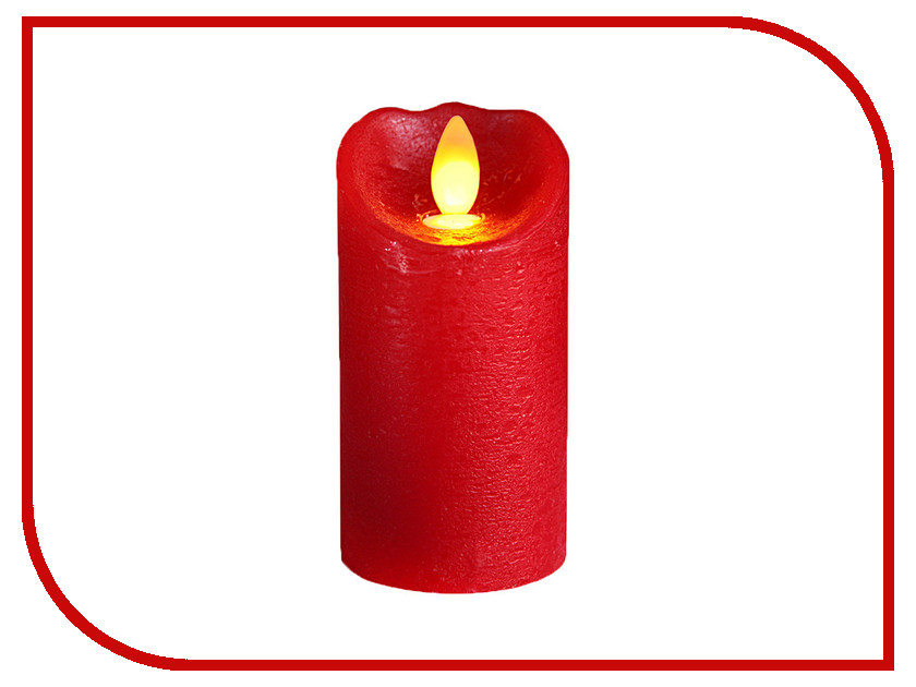 Светодиодная свеча Star Trading LED Glow Wax Red 068-82 trading up